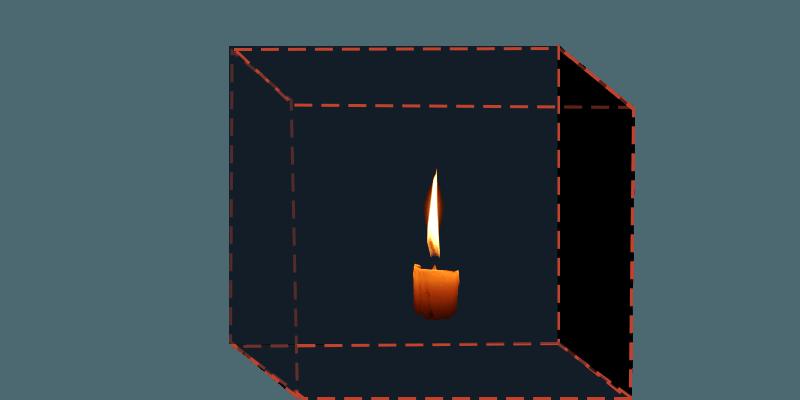 Visualização da caixa de lêndeas