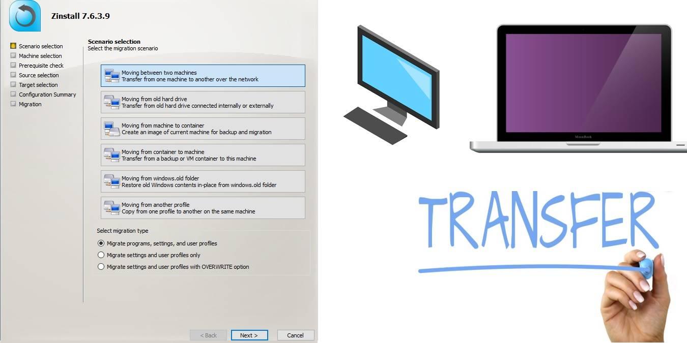 Zinstall Migration Kit Pro: uma solução avançada e automatizada de transferência de PC