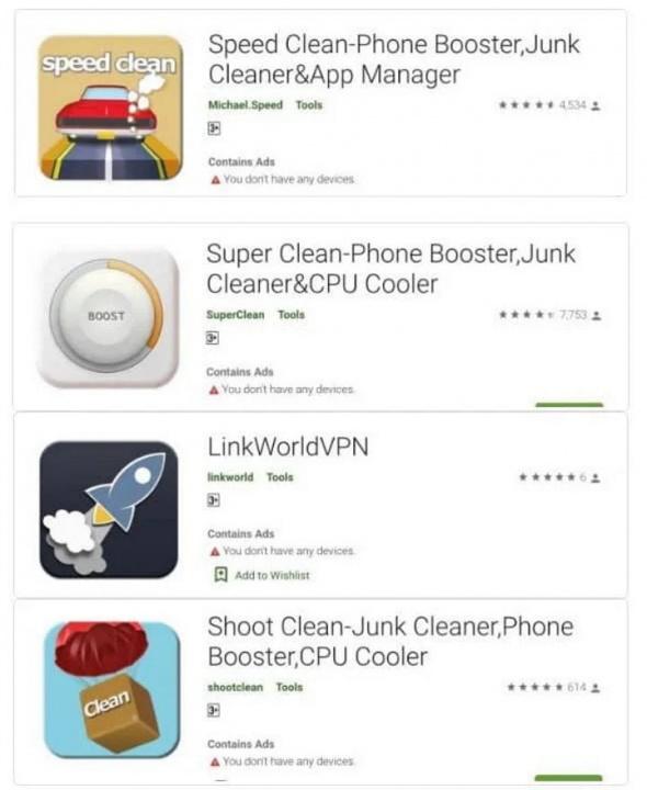Android apps malware contas segurança