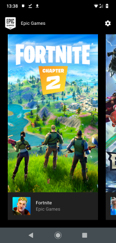 Como instalar Fortnite No Android Epic Games Página inicial