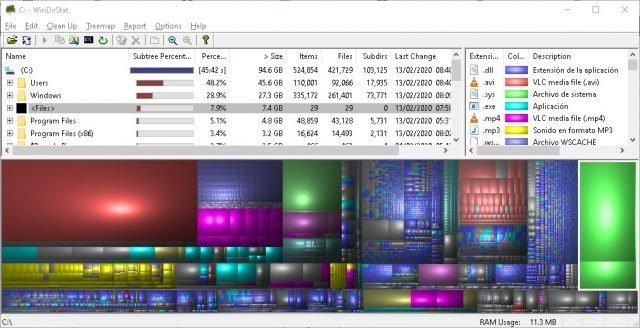 Descubra quais arquivos ocupam mais espaço em seu disco com o WinDirStat 3