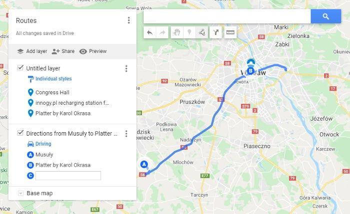 Como salvar a rota no Google Maps Meus mapas