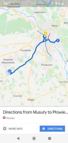 Como salvar rota no Google Maps concluída