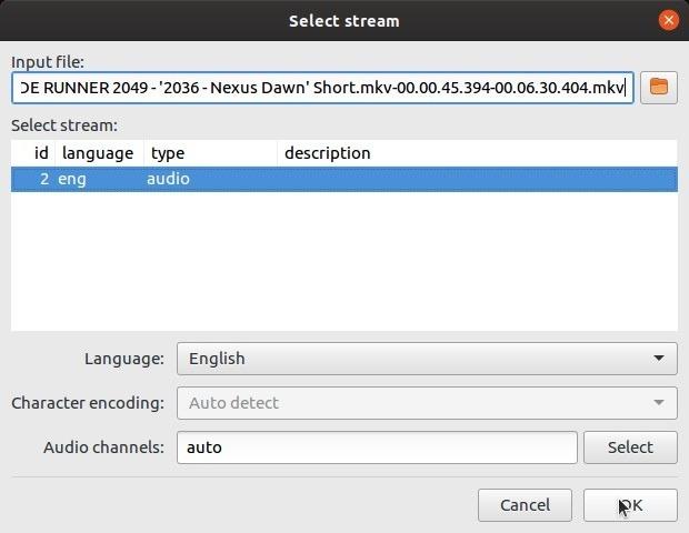 Corrigir legendas automaticamente com o idioma de referência de subsincronização