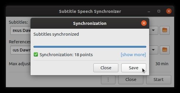 Corrigir legendas automaticamente com grande sucesso de subsincronização