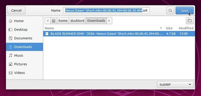 Corrigir legendas automaticamente com o arquivo de renomeação de subsincronização