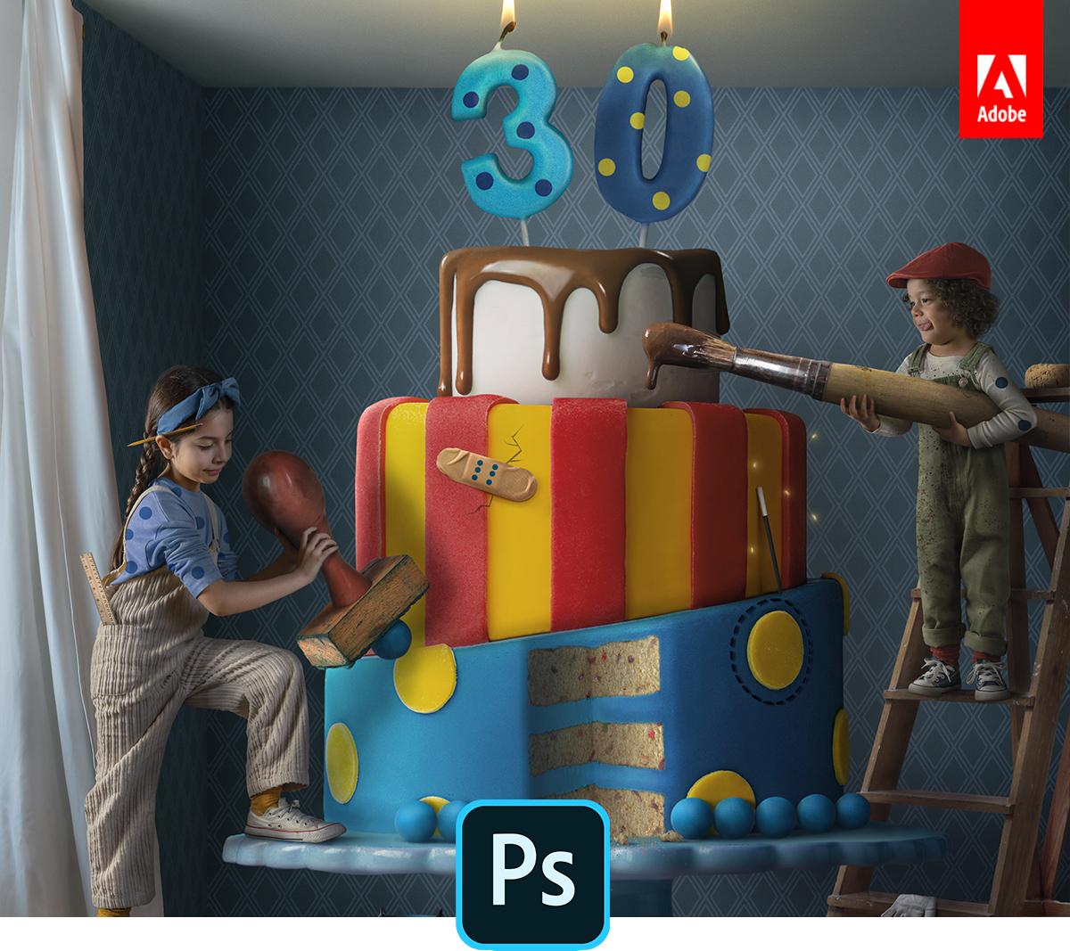Adobe traz novos recursos para o Photoshop para desktop e iPad 1
