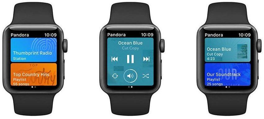 Agora você pode transmitir o Pandora no Apple Watch sem um iPhone 1