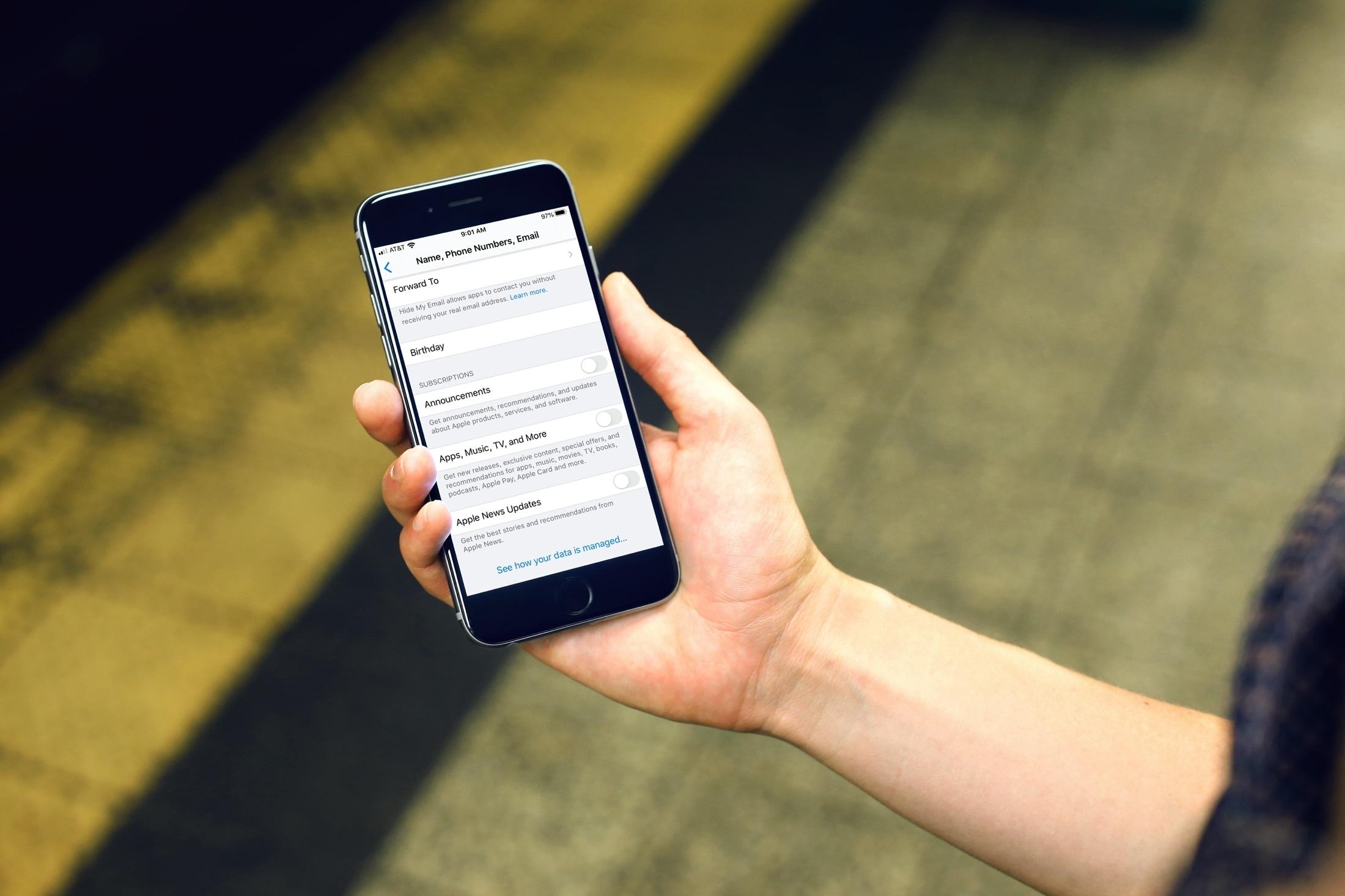 Desativar Apple Notícias Comunicados iPhone