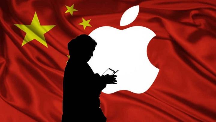 Imagem ilustrativa problemas na China com o coronavírus e com a Apple, no seu novo iPhone