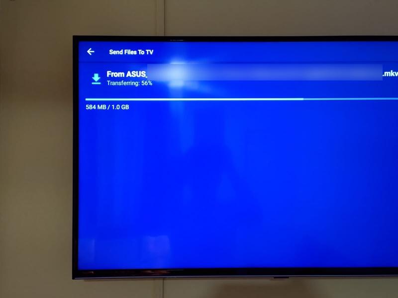 Envie arquivos de filme para a Smart TV sem fio a partir do seu celular 1