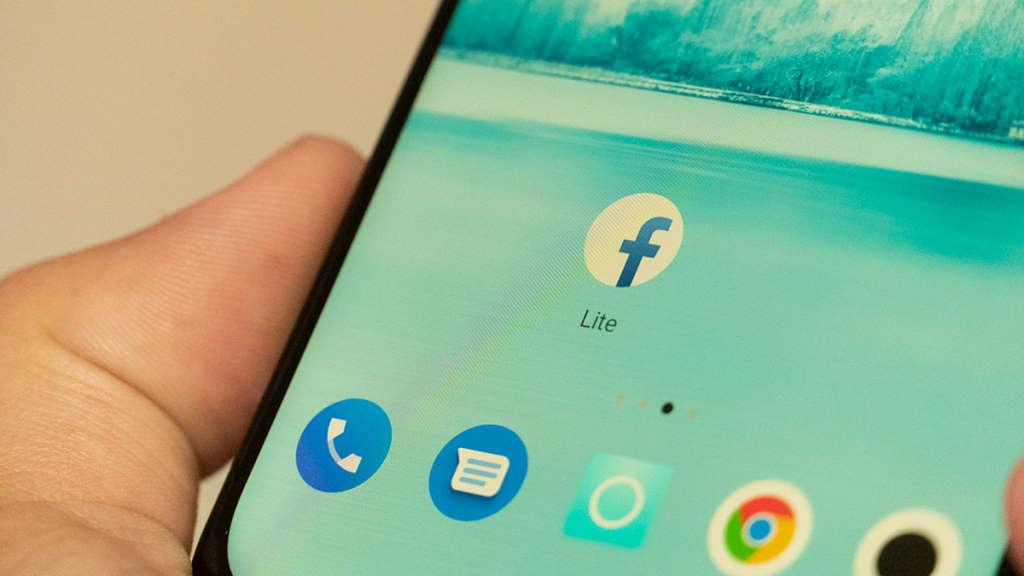 Facebook lite dark mode app android
