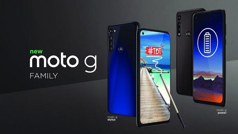 Motorola lança finalmente o Moto G Stylus e o Moto G Power