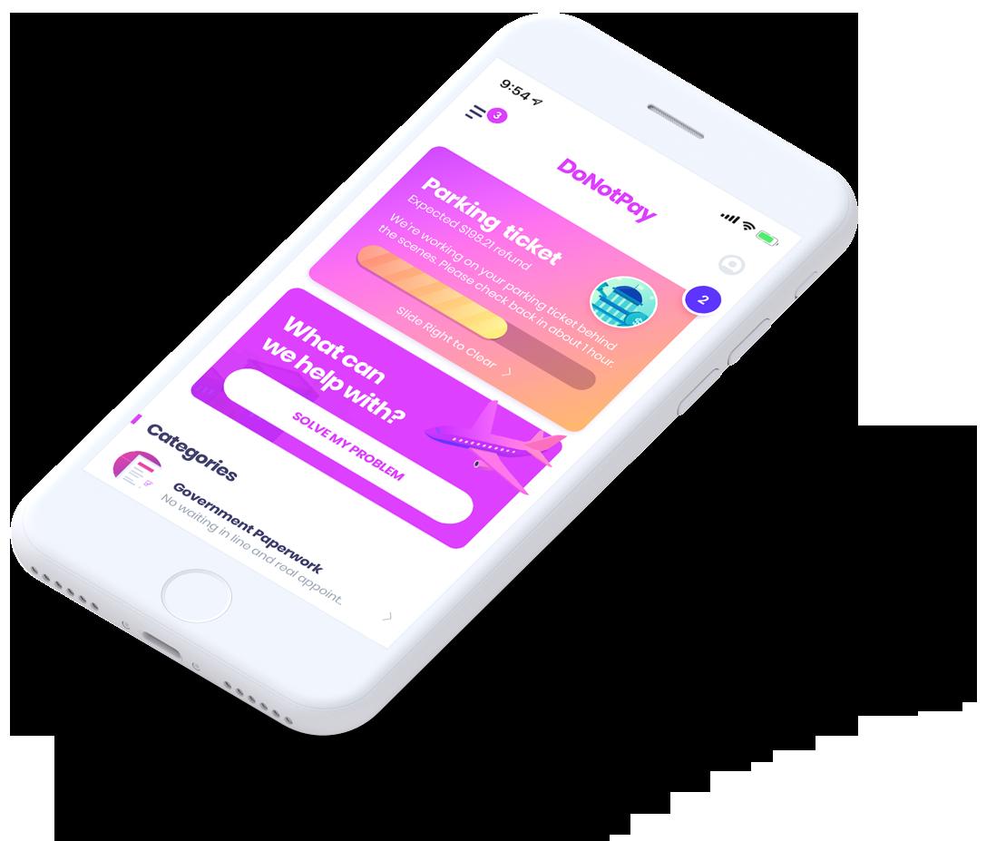 O novo aplicativo do DoNotPay pode processar automaticamente robocallers 1