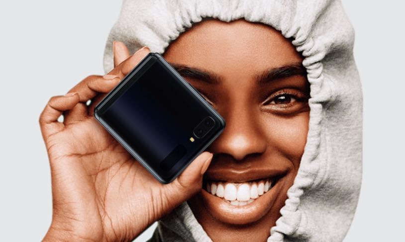 Samsung Galaxy Z Flip! O primeiro com vidro dobrável por 1529,90€