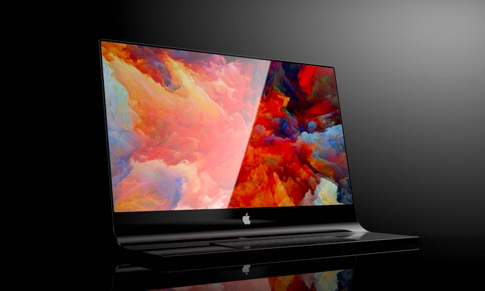 Glass iMac Concept