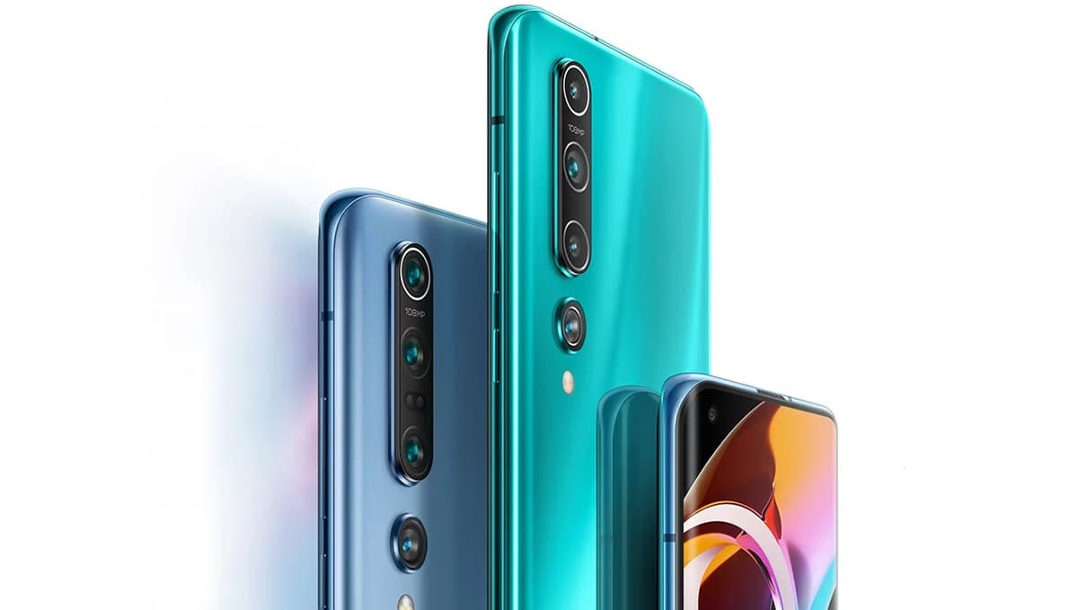 Imagem Xiaomi Mi 10 e Mi 10 Pro com 5G