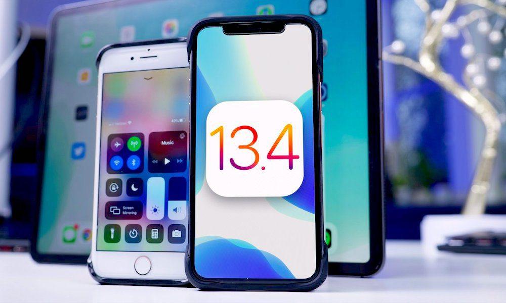 iOS 13 4