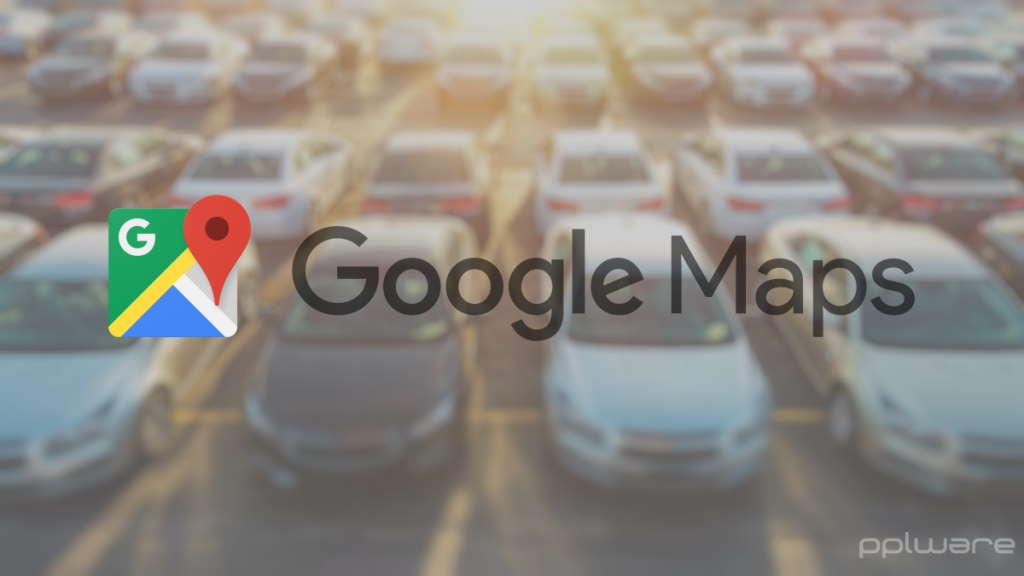 Google Maps estacionou carro memorizar