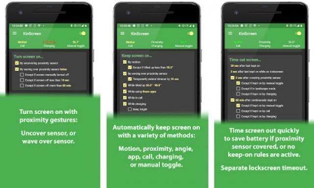 KinScreen, controle completamente o comportamento da tela no Android 1