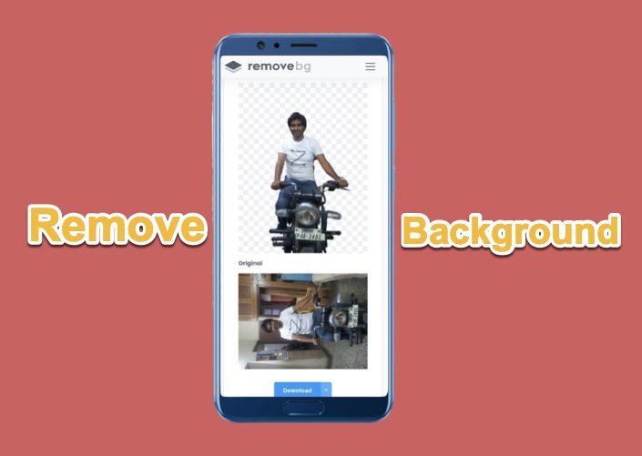 Remova rapidamente o plano de fundo das fotos no celular sem qualquer aplicativo