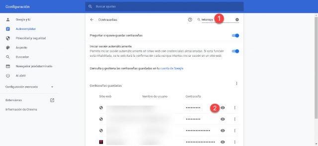 Para que você possa ver as senhas salvas no Google Chrome 3