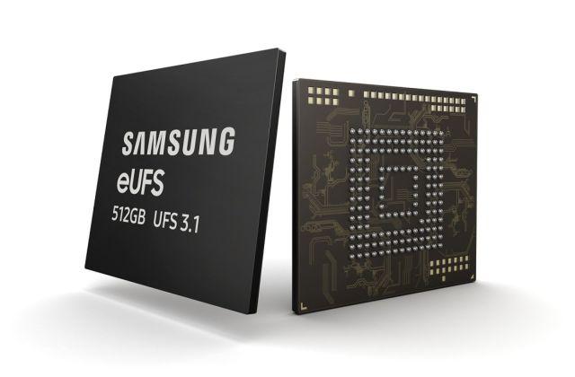 A Samsung fará o seu smartphones seja mais rápido com os novos chips eUFS 3.1 1