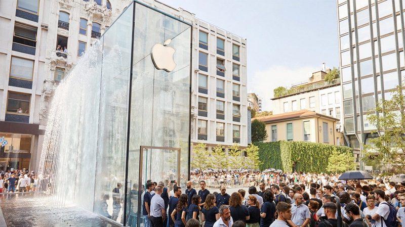 Apple fecha todas as lojas em Itália por tempo indefinido, devido ao COVID-19