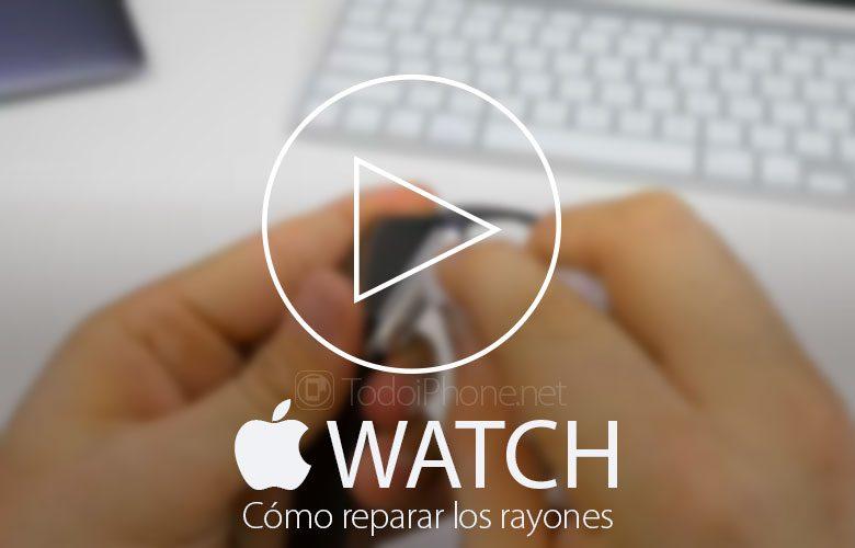 Como consertar, em Apple Watcharranhões na carcaça