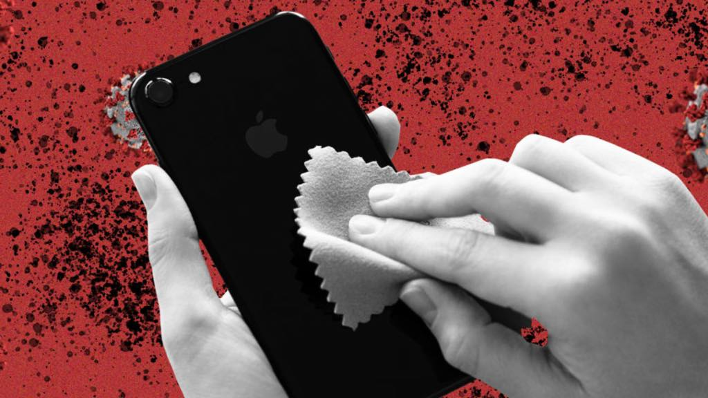 Coronavírus: Desinfete o seu Smartphone, Tablet e Smartwatch