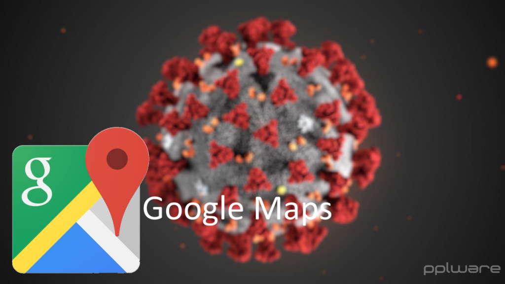 Google Maps COVID-19 doença ajuda alertas