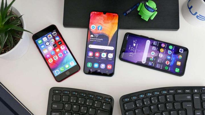 Samsung Huawei Apple smartphones  mercado