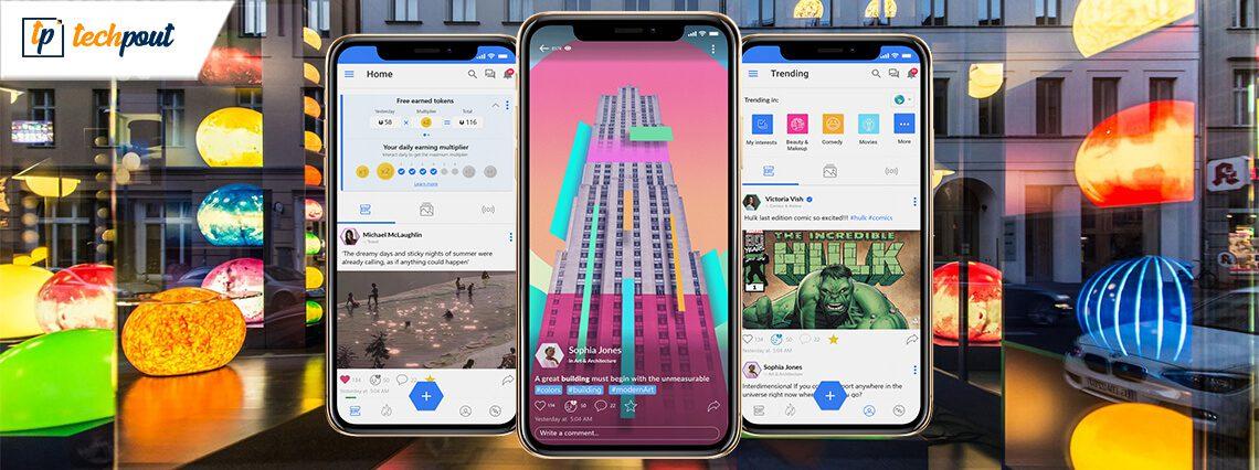 Uhive: uma nova plataforma de rede social que compartilha seus ganhos