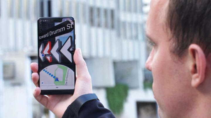 Google Maps Live View novidade pesquisa navegação