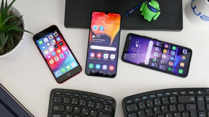 smartphones  vendas globais quebra COVID-19
