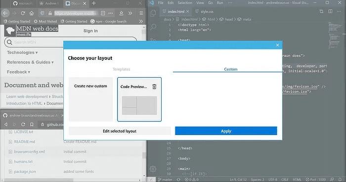 Adicionando funcionalidade ao Windows 10 de PowerToys 6