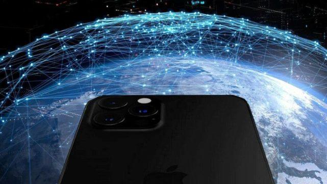 satélites iPhone 13 e leo