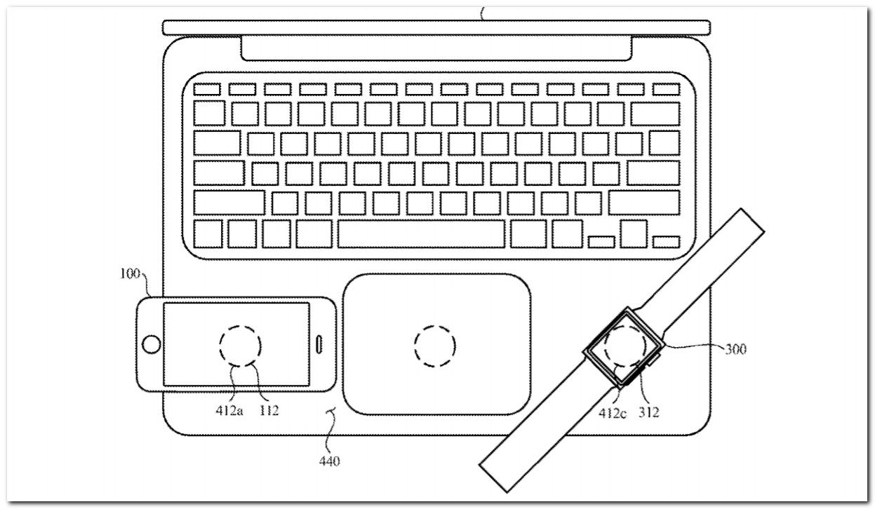 Apple patentes imaginam um MacBook com capacidade de carregamento reverso sem fio 1