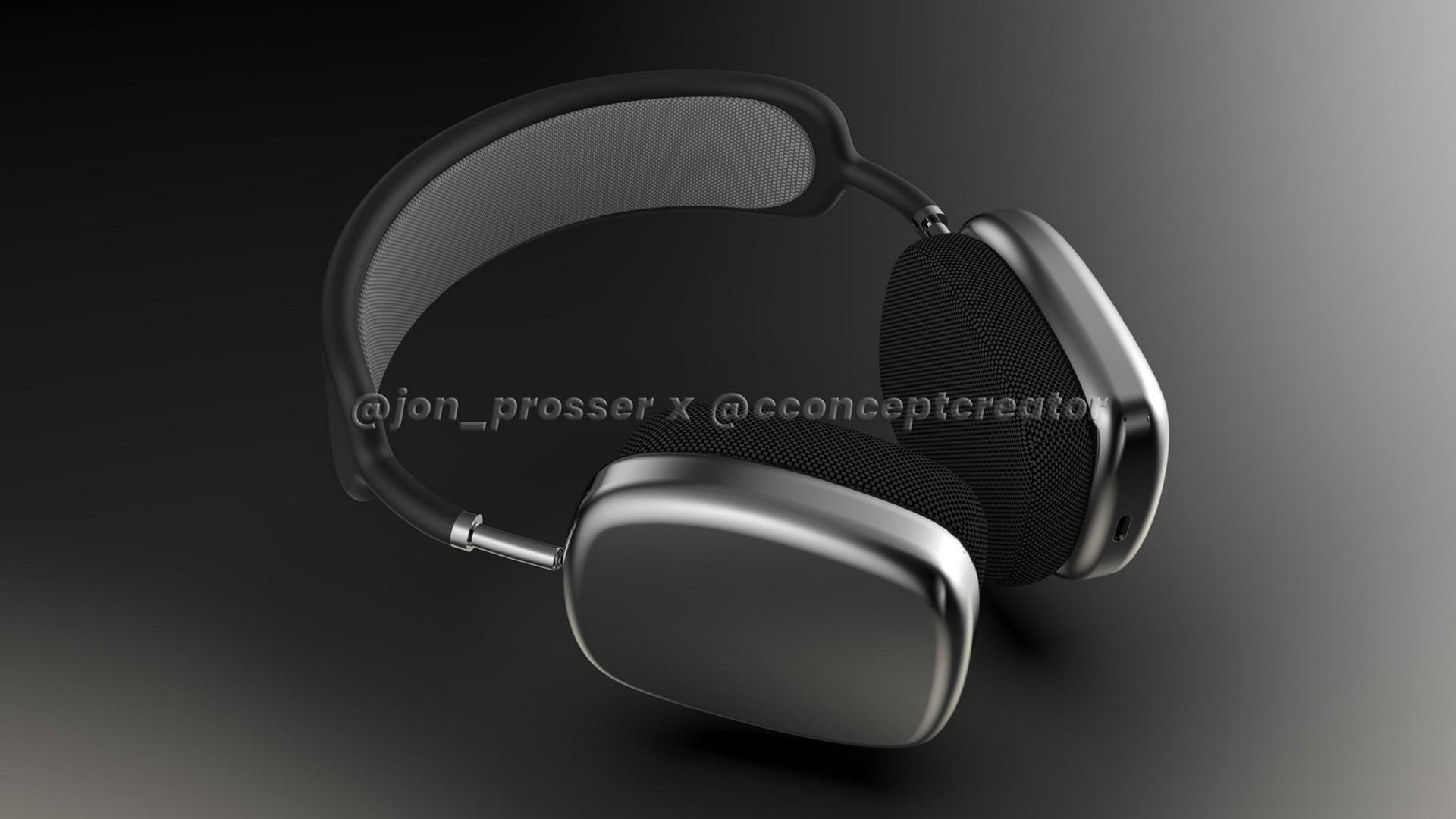Aqui está sua primeira olhada em Applepróximos fones de ouvido sem fio AirPods Studio 1