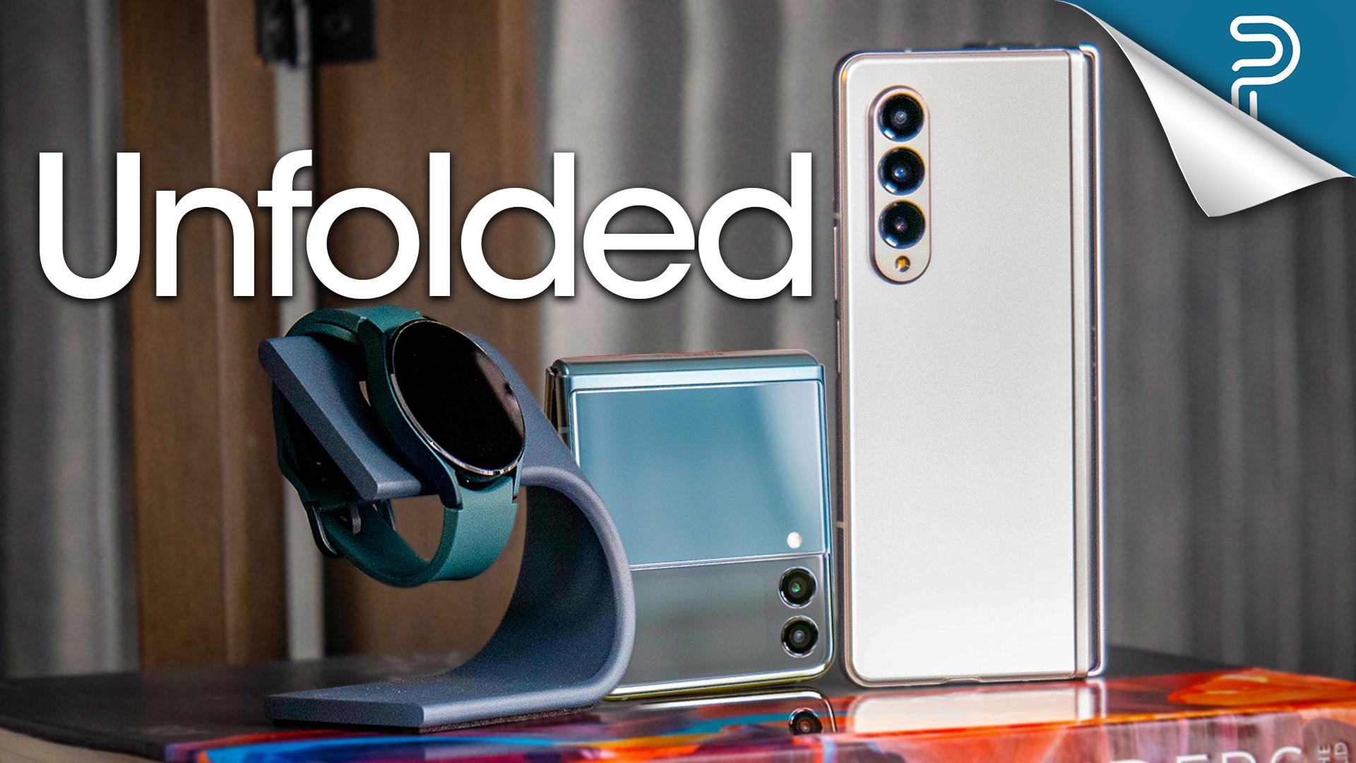 Conheça a Samsung Galaxy Z Fold 3, Z Flip 3 e mais (vídeo) 1