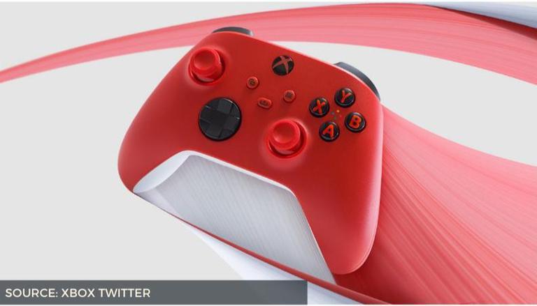 Controlador Xbox Series X vermelho: Confira o novo esquema de cores vermelho do Pulse 1