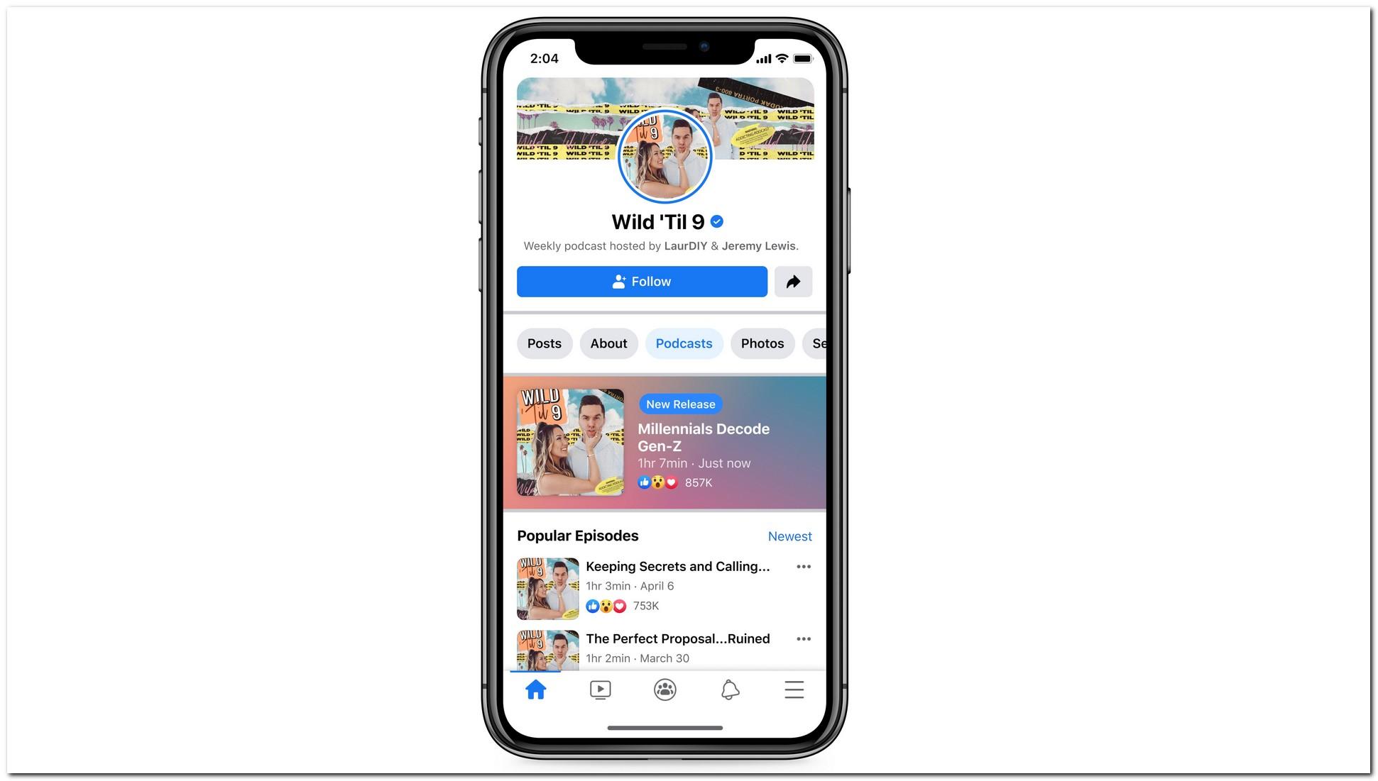 Facebook está trazendo podcasts para sua plataforma com a parceria do Spotify em ação 1