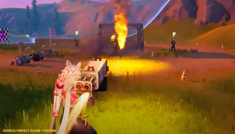 Novos exóticos em Fortnite: Como Obter o Slurp Bazooka And Burst Quad Launcher? 1