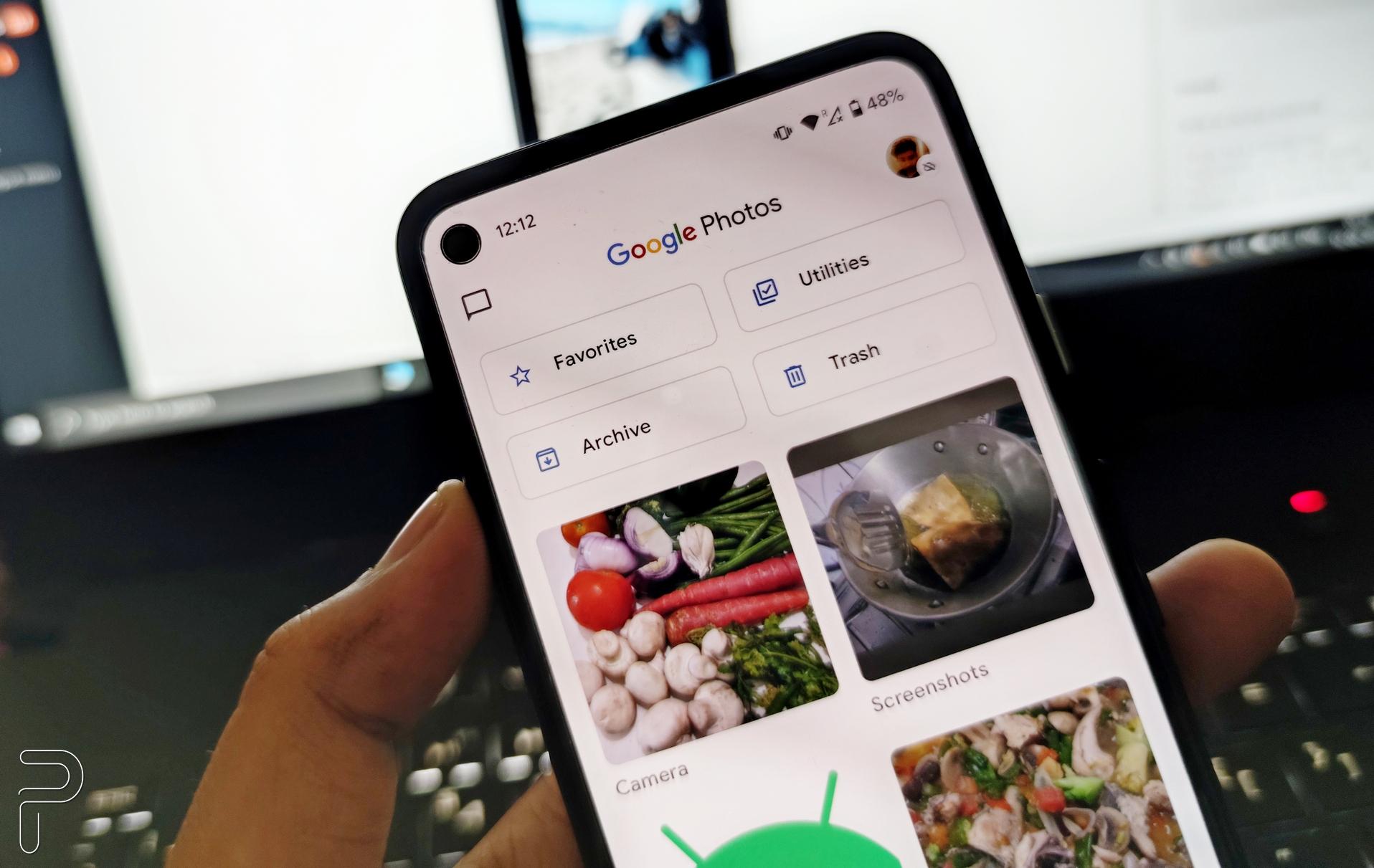"""O Google Fotos pode estar testando o botão """"Filtrar"""" para facilitar a classificação em sua galeria de fotos 1"""