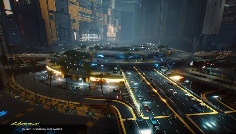 O mapa do Cyberpunk 2077 foi divulgado no Reddit;  Veja o mapa do próximo jogo aqui 1