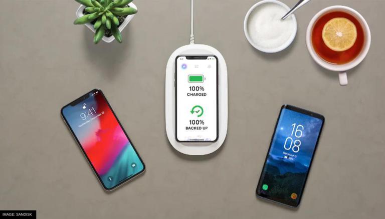 SanDisk Lança Carregador Sem Fio Que Pode Fazer Backup Automático E Armazenar Dados Do Telefone;  Verifique as especificações 1