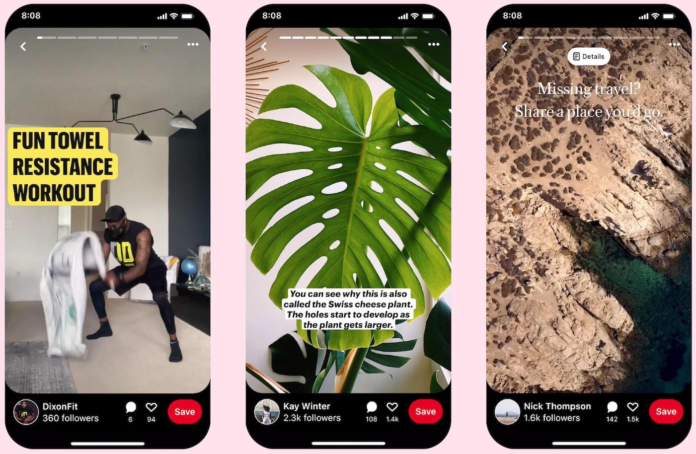 Todo mundo está fazendo histórias, então Pinterest agora tem sua própria versão também 1