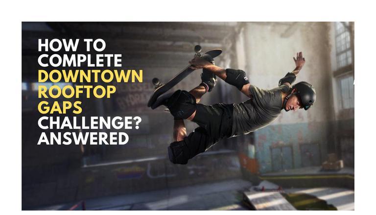 Tony Hawk Pro Skater 1 E 2 Refazer lacunas no telhado e como vencer o desafio 1
