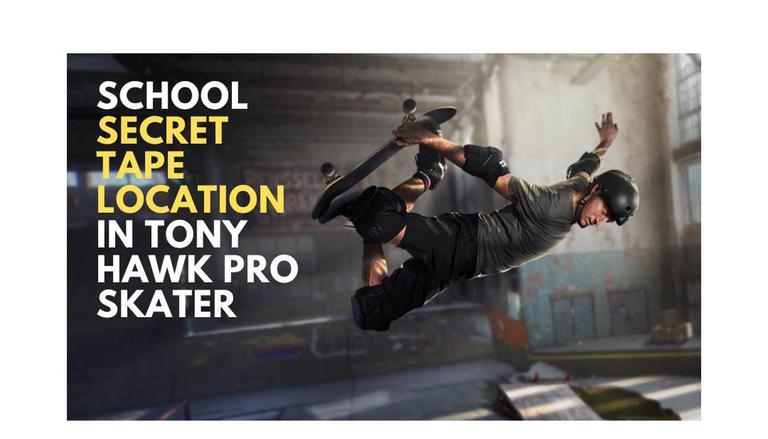 Tony Hawk Pro Skater 2 Remasterizado: localização da fita secreta da escola e muito mais 1