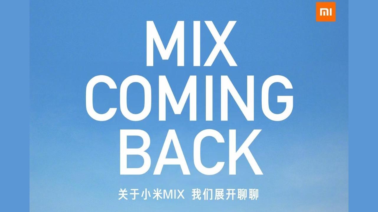 Xiaomi Mi Mix está de volta com um lançamento previsto para 29 de março 1